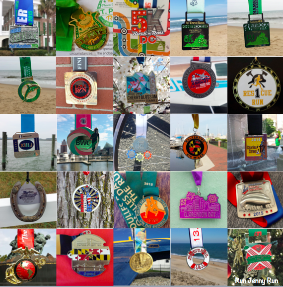 Year in Review – 2015 Medals (Bling Bling)