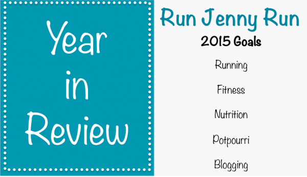 Year in Review - 2015 Goals
